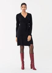 Diane Von Furstenberg New Linda Wool-Cashmere Wrap Dress