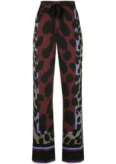 Diane Von Furstenberg Nik printed pyjama pants