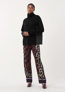 Diane Von Furstenberg Nik Stretch Georgette Pajama Pants