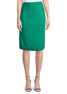 Noemi Zip-Side Pencil Skirt