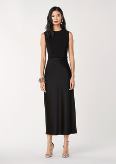 Diane Von Furstenberg Nouvel Satin Midi Dress