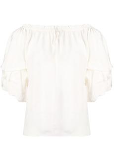 Diane Von Furstenberg off-the-shoulder blouse