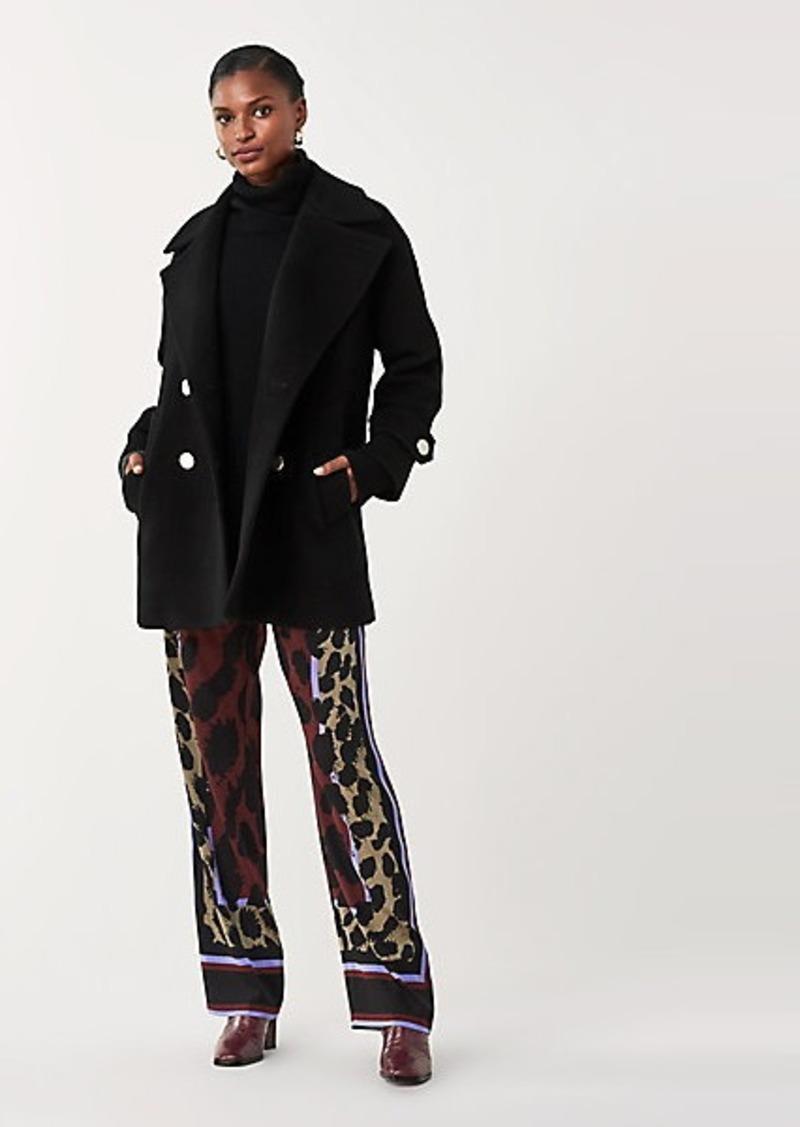 Diane Von Furstenberg Olivera Double-Face Wool Coat