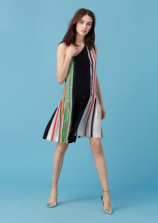 One-Shoulder Ribbon Dress