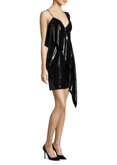Diane Von Furstenberg One-Shoulder Ruffle Dress