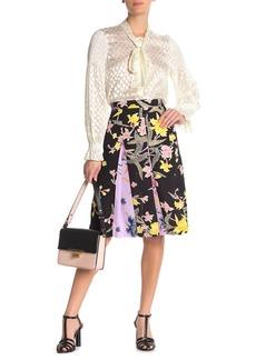 Diane Von Furstenberg Opal Box Pleat Skirt