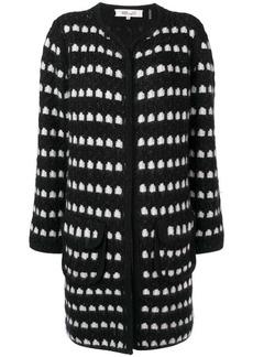 Diane Von Furstenberg oversized knitted cardigan