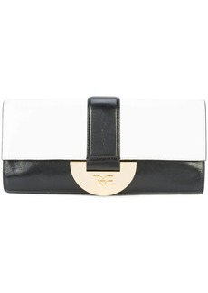 Diane Von Furstenberg paneled clutch bag