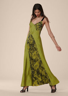 Paneled Maxi Dress