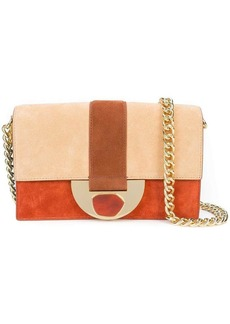 Diane Von Furstenberg paneled shoulder bag