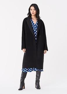 Diane Von Furstenberg Perilla Double-Face Wool Coat