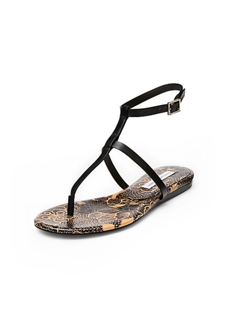 Diane Von Furstenberg Perugia T-Strap Sandal