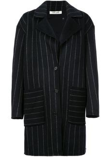 Diane Von Furstenberg pinstripe oversized coat