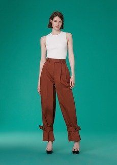 Pleat Leg Pants