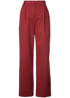 Diane Von Furstenberg pleated trousers