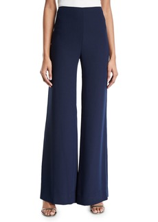 Diane Von Furstenberg Preston Wide-Leg High-Waisted Pants