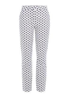 Diane Von Furstenberg Printed Cotton Pants