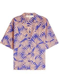 Diane Von Furstenberg Printed Cotton Shirt