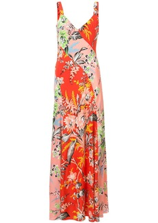 Diane Von Furstenberg printed maxi dress