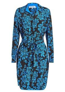 Diane Von Furstenberg Printed Silk Dress