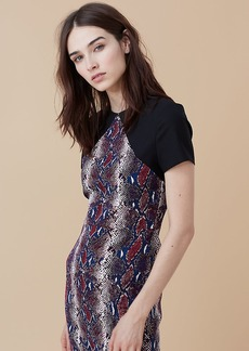 Printed Tailored Dress