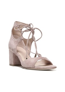 Priore Lace-Up Suede Block Heel Sandals
