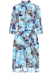 Diane Von Furstenberg Prita crêpe de chine shirt dress