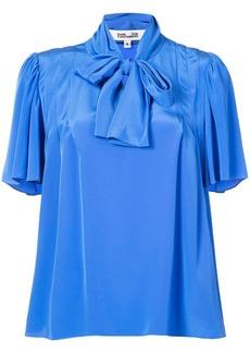 Diane Von Furstenberg pussy bow blouse