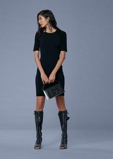 Diane Von Furstenberg Raglan Sleeve Sweater Dress