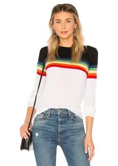 Diane Von Furstenberg Rainbow Crewneck Sweater