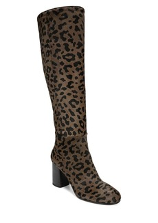 Diane Von Furstenberg Reese Calf Hair Knee High Boots