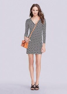 Reina Long Sleeve Silk Jersey Dress