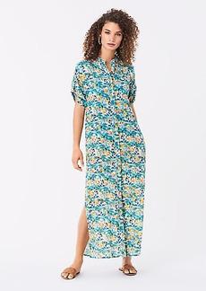 Diane Von Furstenberg Renee Cotton-Blend Maxi Beach Dress