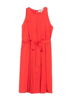 Diane Von Furstenberg Ria Sleeveless Pleated Dress