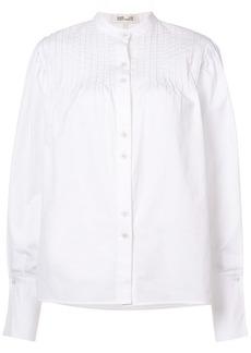 Diane Von Furstenberg ribbed blouse