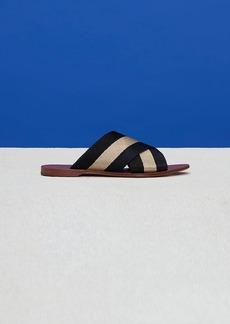 Diane Von Furstenberg Ribbon Slides