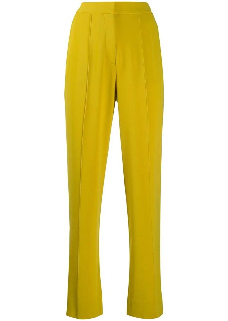 Diane Von Furstenberg Riya crepe trousers