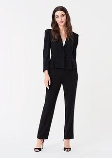 Diane Von Furstenberg Riya Stretch Crepe Straight Pants