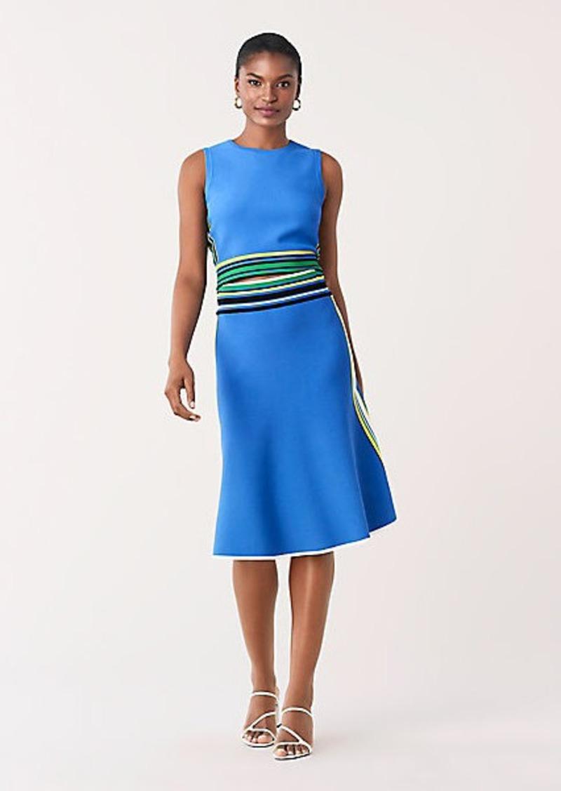 Diane Von Furstenberg Roseha Stretch-Knit A-Line Skirt