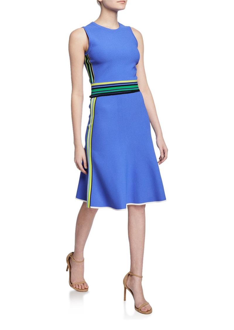 Diane Von Furstenberg Roshea Striped Skirt