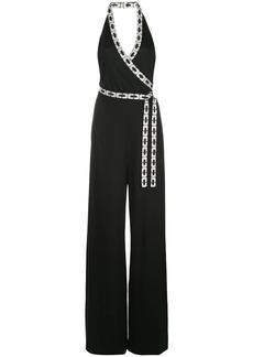 Diane Von Furstenberg Ruby Swarovski-embellished jumpsuit