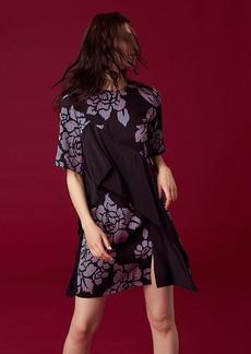 Ruffle Front Mini Dress