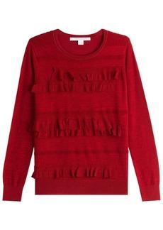Diane Von Furstenberg Ruffled Pullover