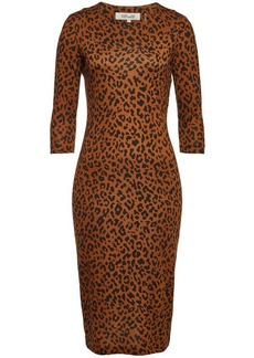 Diane Von Furstenberg Saihana Printed Silk Dress