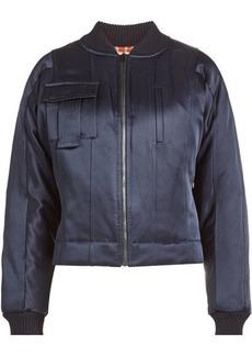 Diane Von Furstenberg Satin Jacket