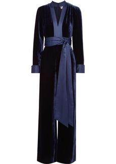627ffd1206 Diane Von Furstenberg Diane von Furstenberg Gingham silk crepe de ...