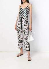 Diane Von Furstenberg sequin striped tank top