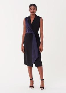 Diane Von Furstenberg Shelly Crepe Wrap Dress