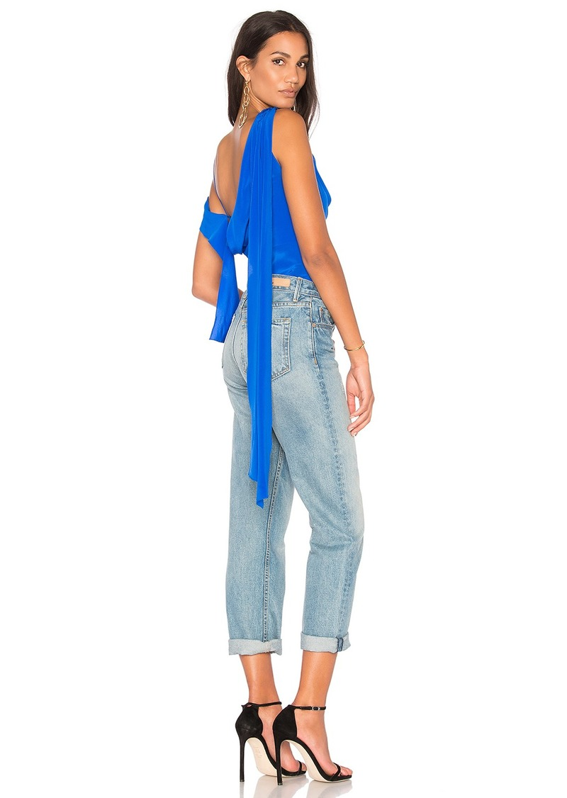 f53872a59e981b Diane Von Furstenberg Shoulder Knot Top | Casual Shirts