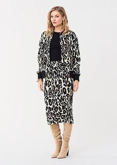 Diane Von Furstenberg Siela Jacquard Knit Pencil Skirt